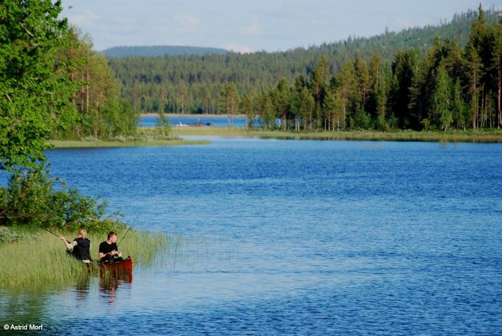 Aha Lodge Angeln Kanu