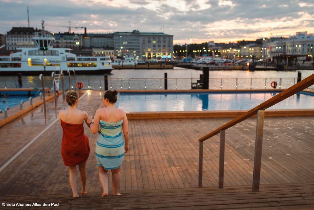 Allas Sea Pool Helsinki 2016 Eröffnungsfeier