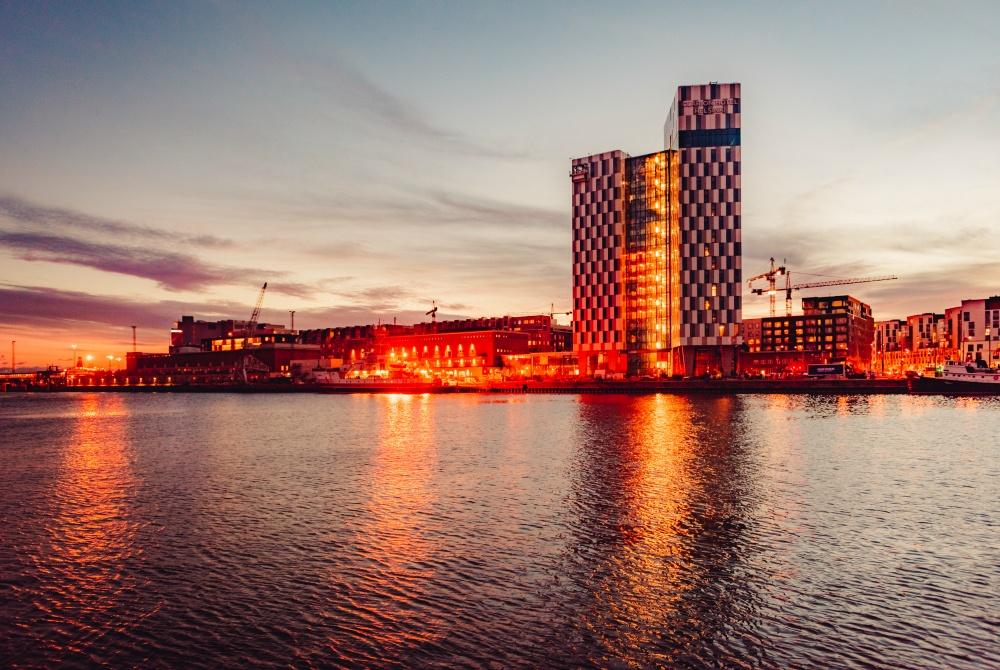 Clarion Hotel Helsinki Fassade Seeseite