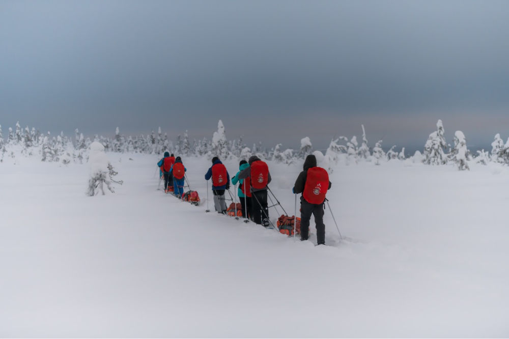 Posio Lapland-Adventure Apes-Skitour