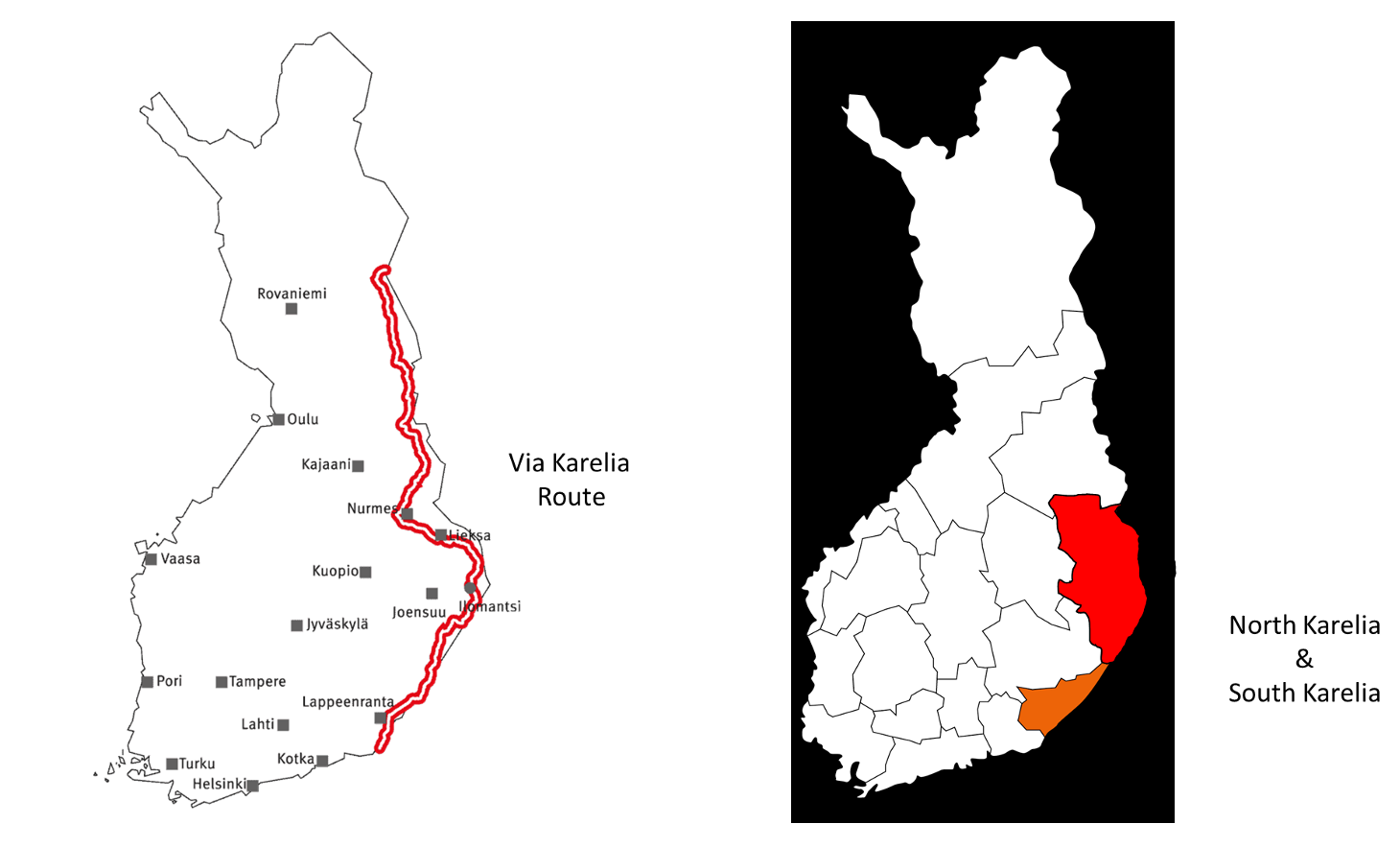 Karelia map