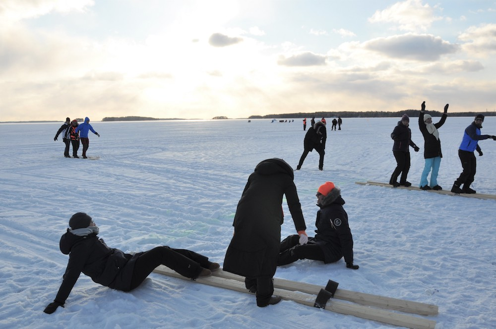 Vimpa Islands - Winteraktivitäten
