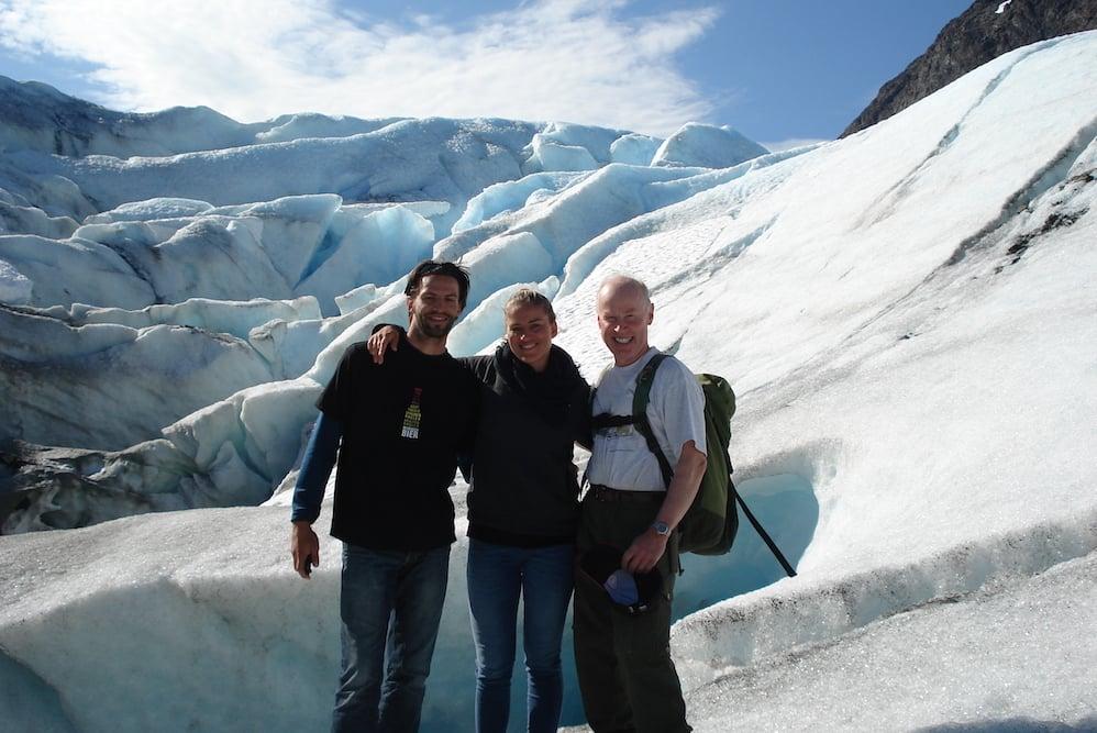 Lyngenfjord - Gletscher