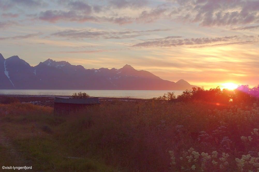 Lyngenfjord - Mitternachtssonne - ©visit-lyngenfjord