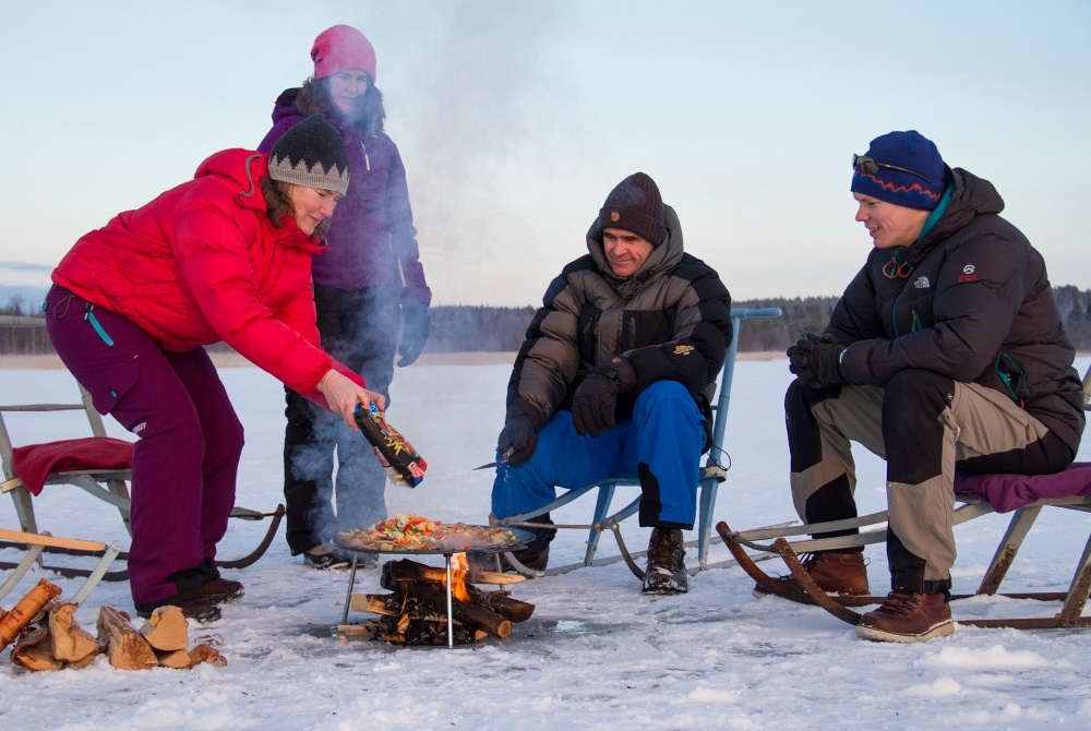 Explore-Luleå Outdoor-Lunch
