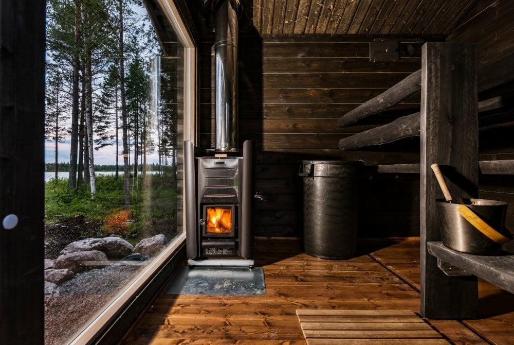Ferienhaus Taikaloora Sauna Vaala Finnland
