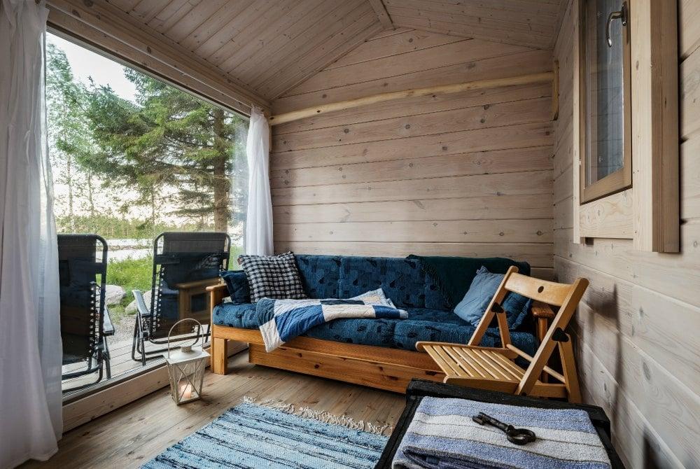 Ferienhaus Taikaloora Vaala Finnland