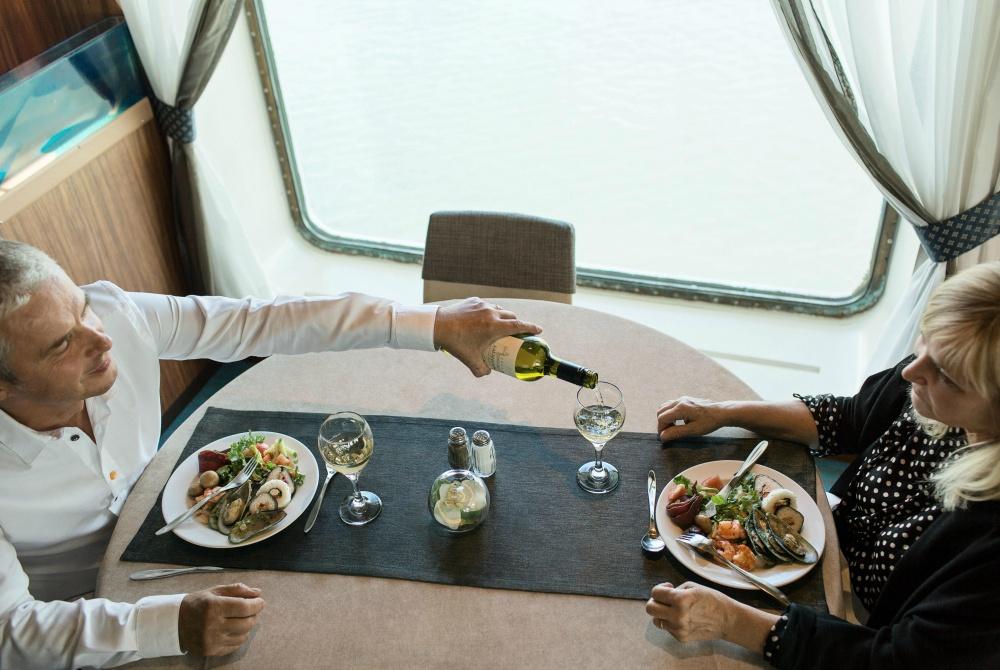 Finnlines leckeres Essen am Buffet Restaurant Silvesterreise