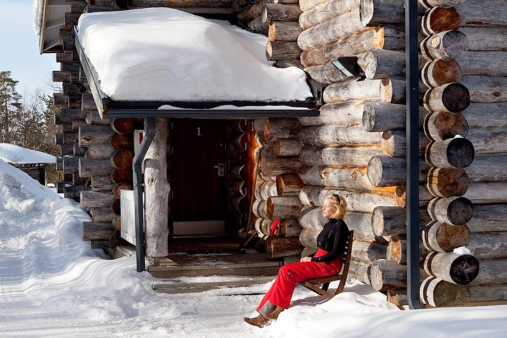 Holiday-Club-Saariselkä_Ferienhaus-Kelotirre-Außenaufnahme1