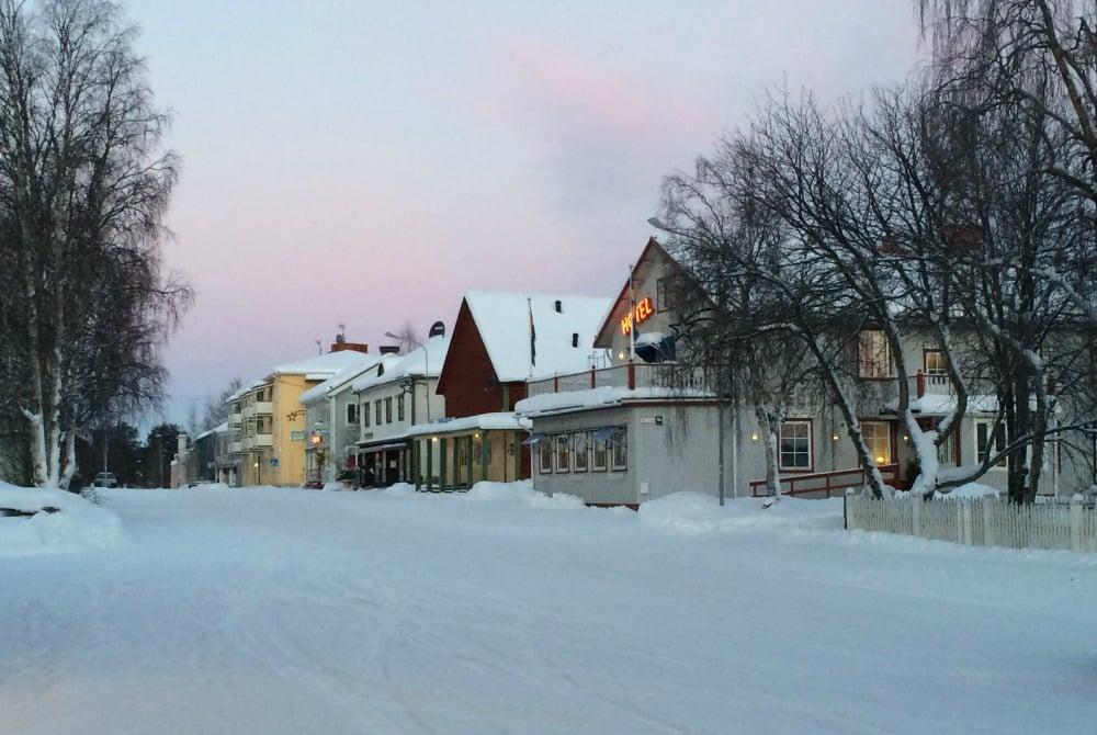 Hotel Akerlund Winter Jokkmokk