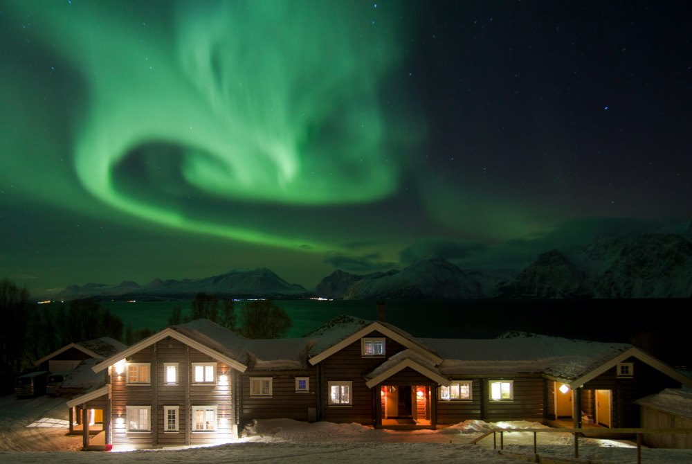 Lyngen Lodge Nordlichter