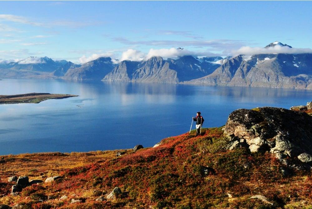 Lyngenfjord - Foto: Georg Sichelschmidt