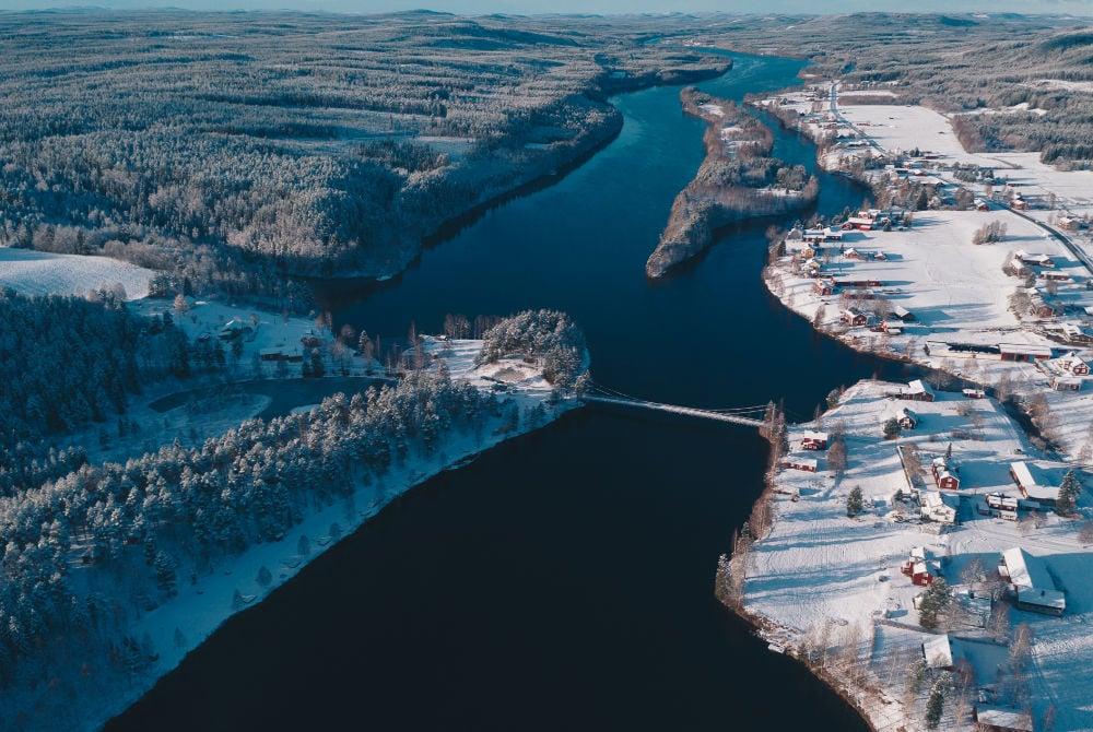 Granö Beckasin Luftaufnahme