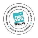 Logo Rokua Geopark-Outdoor Destination