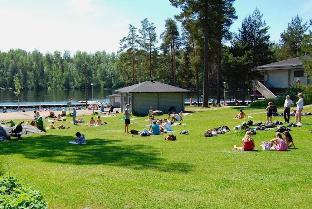 Kuusijärvi Strand Vantaa