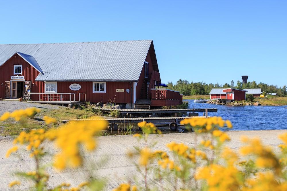 Hafen Svedjehamn in Björköby