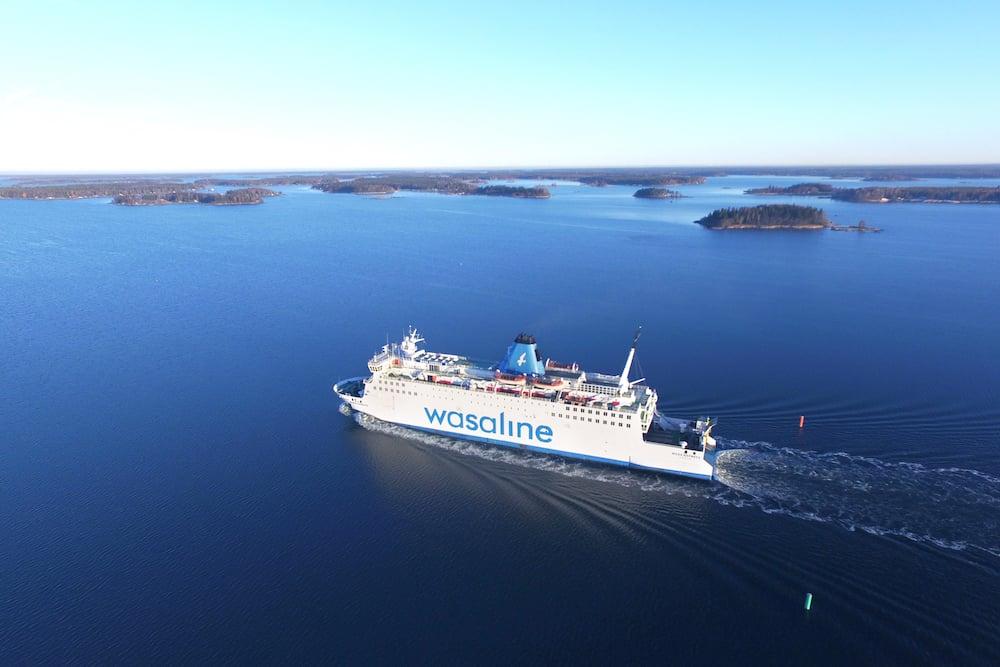 The Finnish Coast...Höga Kusten - Schiff Wasaline