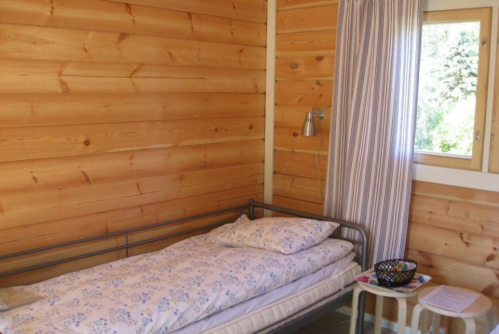 Zimmer in der Hütte Luhtiaitta