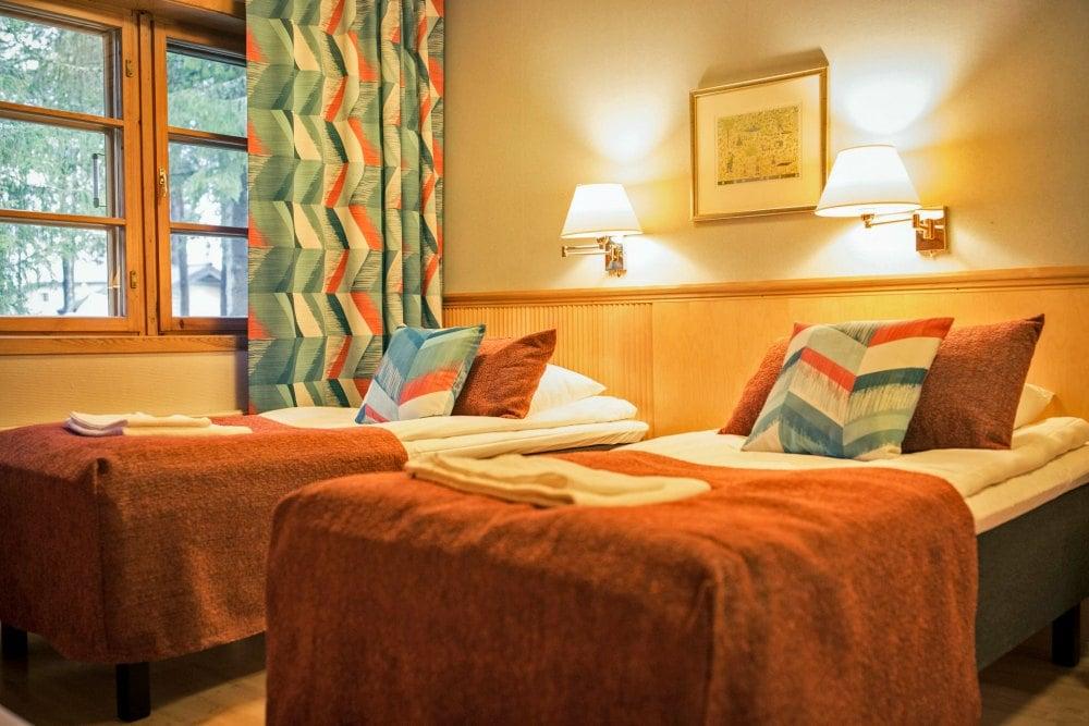 Levi Hotel Spa renoviertes Familienzimmer