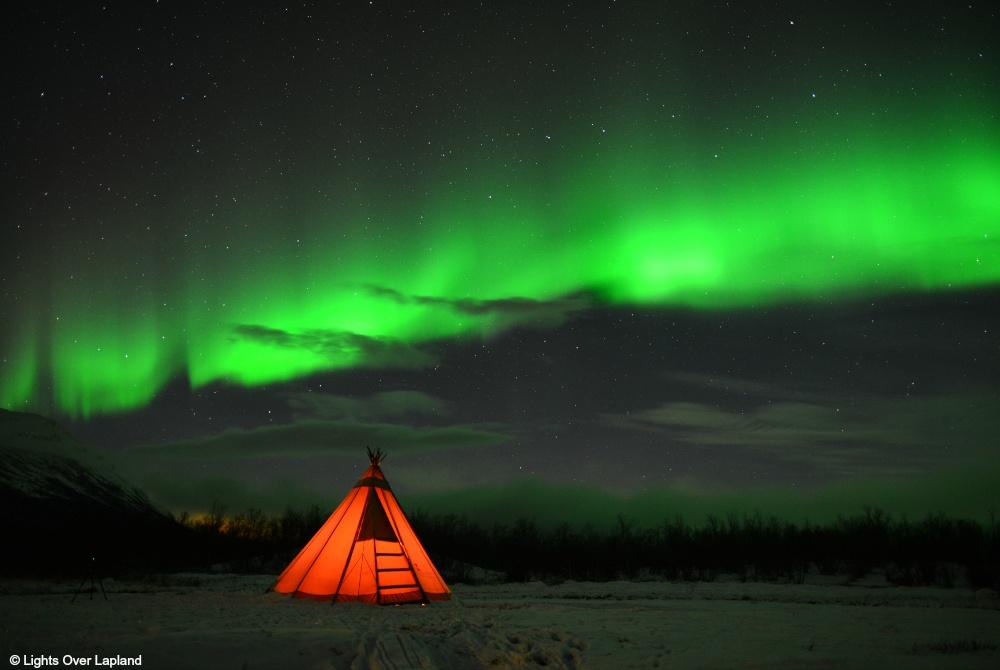 Lights Over Lapland Zelt