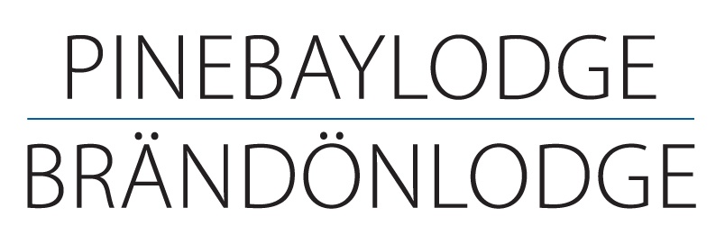 Logo Brändön Lodge - Pine Bay Lodge