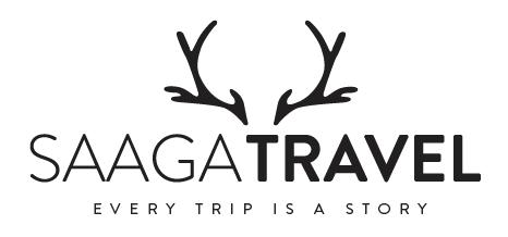 Finnland Saaga Travel Logo