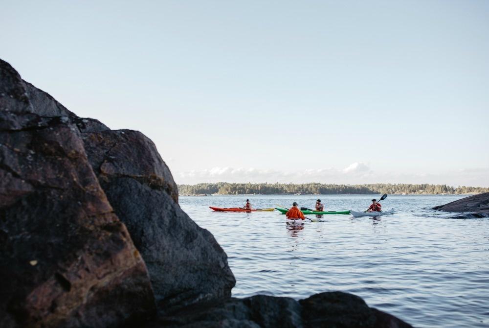Seekajaktour im Archipel vor Helsinki