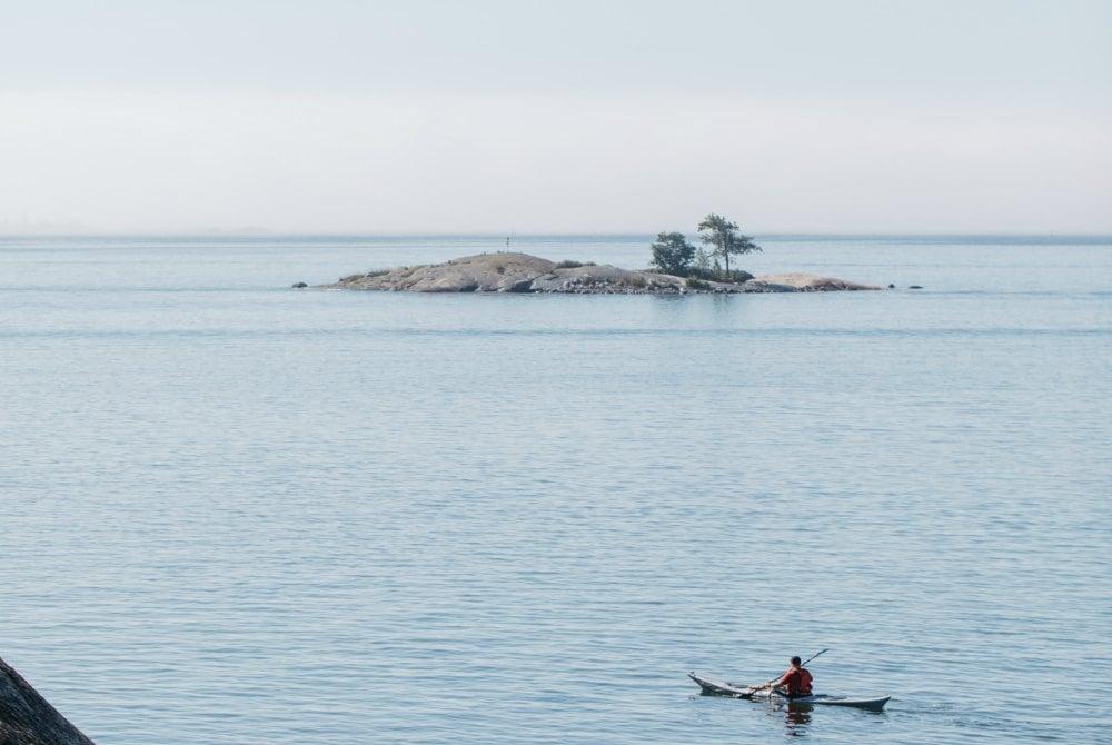 Kajakabenteuer im Archipel vor Helsinki