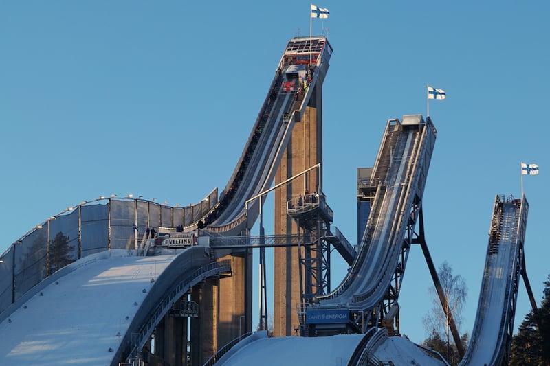Visit Lahti - Skisprungschanze