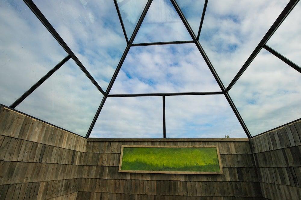 Dach der Aurora-Pyramiden