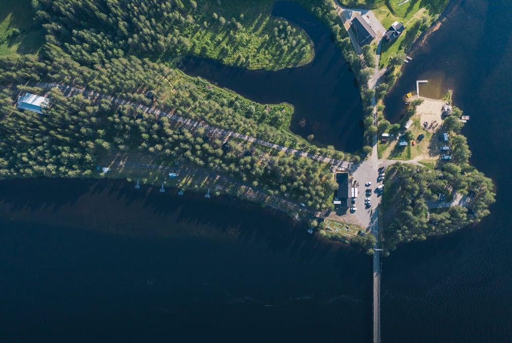 Granö Beckasin-Luftaufnahmen