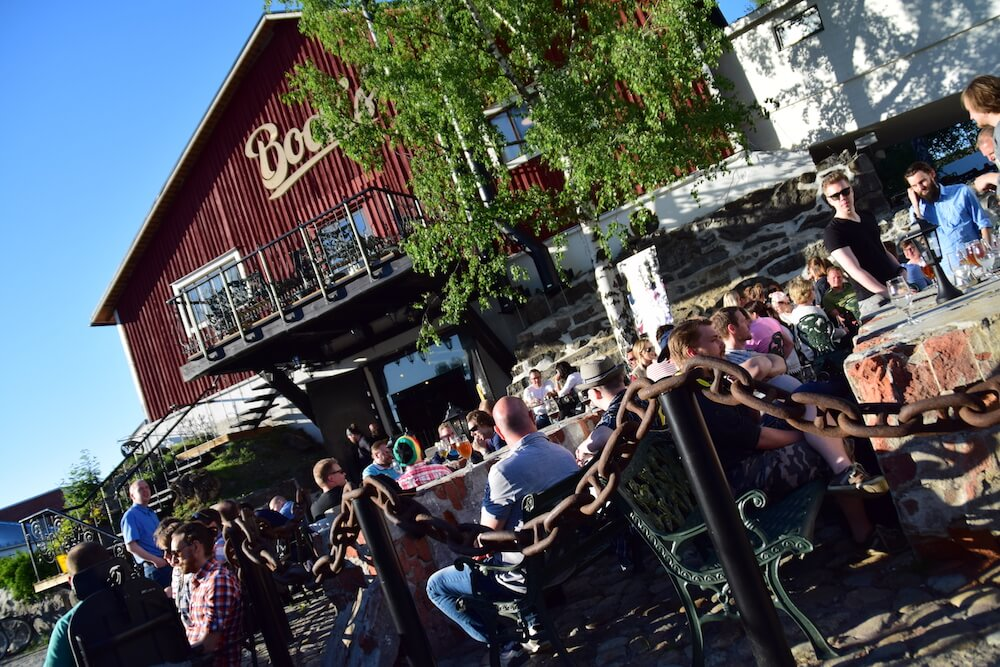 Vaasa - Bocks Brewery - Garten
