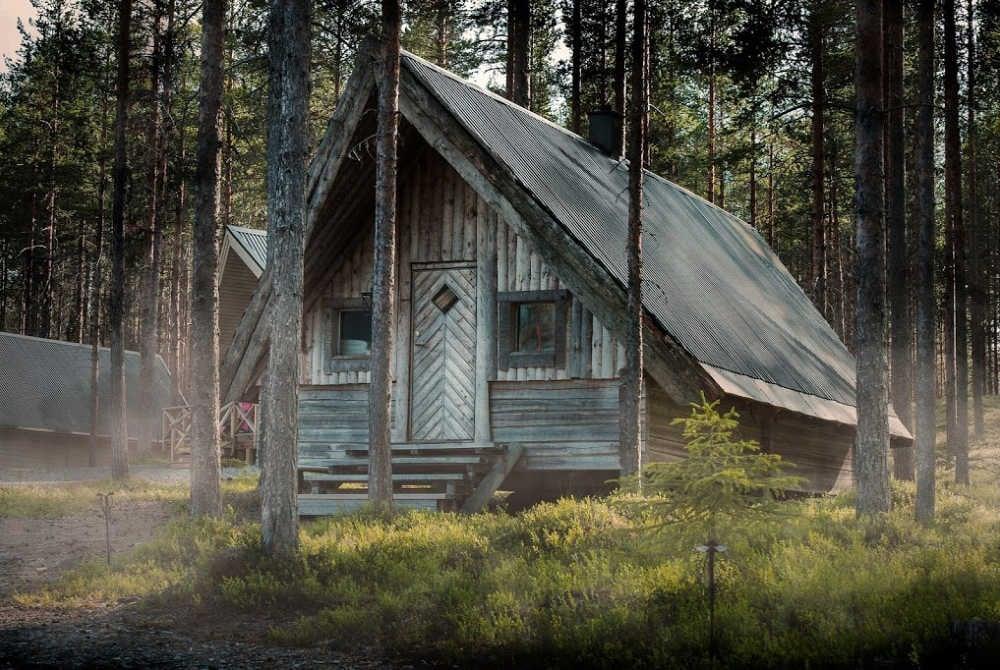 Forsknäckarna Wildnis-Hütte