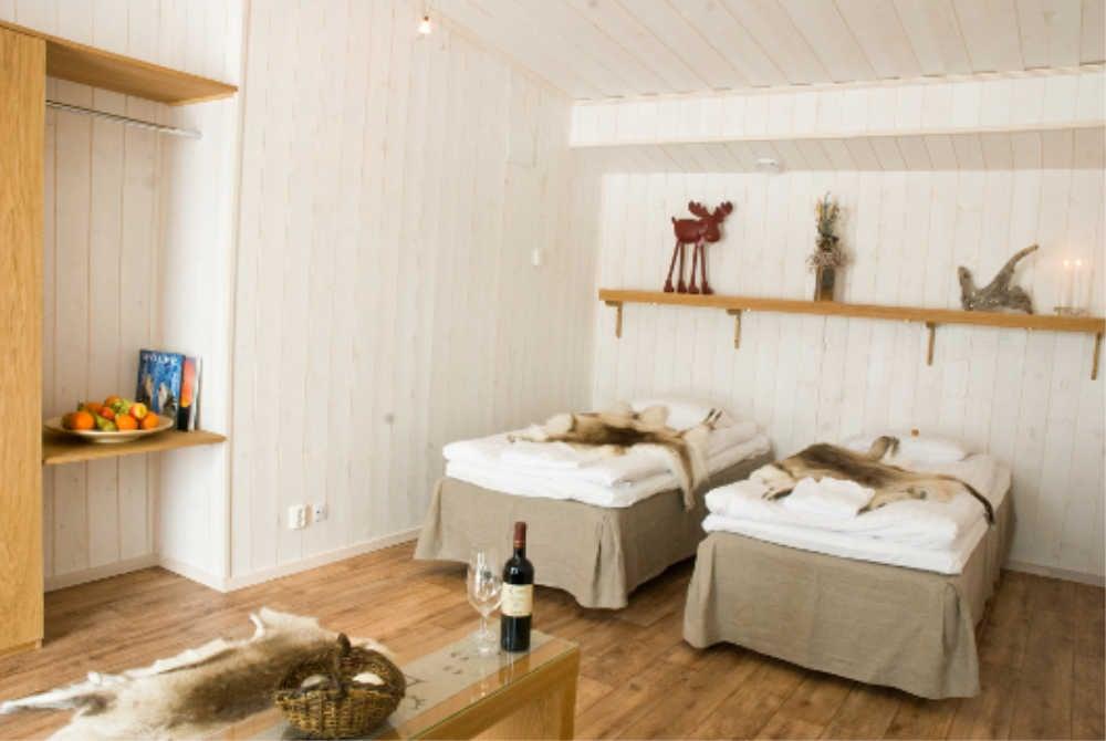 Hotelzimmer Lappeasuando Lodge