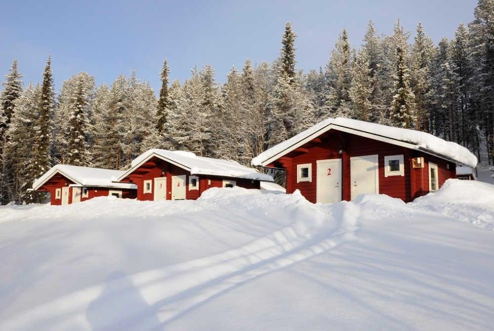 Lappeasuando Lodge-Winter