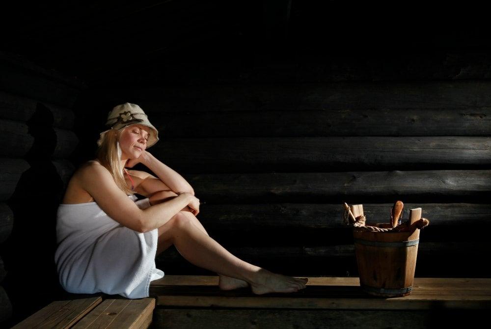 Saunagang in Levi