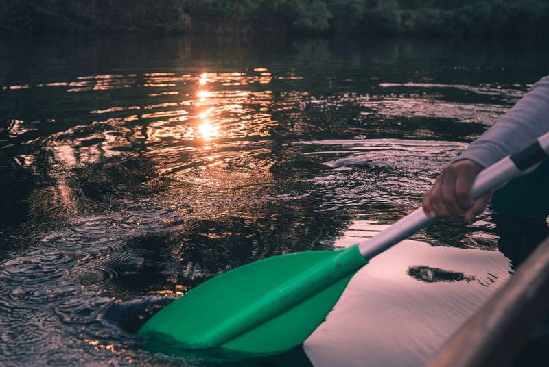 Kanutour auf dem Ounasjoki