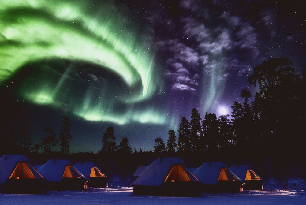 Northern Lights Village Levi_Aurora Cabins