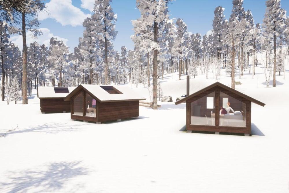 Polar Lights Tours_Aurora Wilderness Cabin