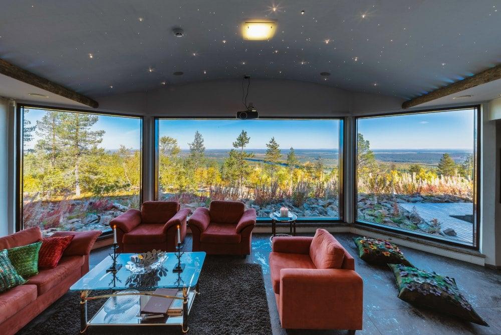 Levin Iglut-Interior Northern Lights House