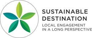 Logo-sustainable destination