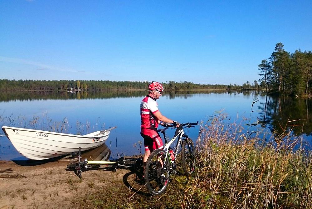 Mountainbike-Tour in Syöte