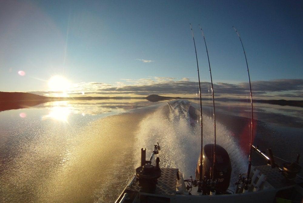 Angeln vom Boot aus