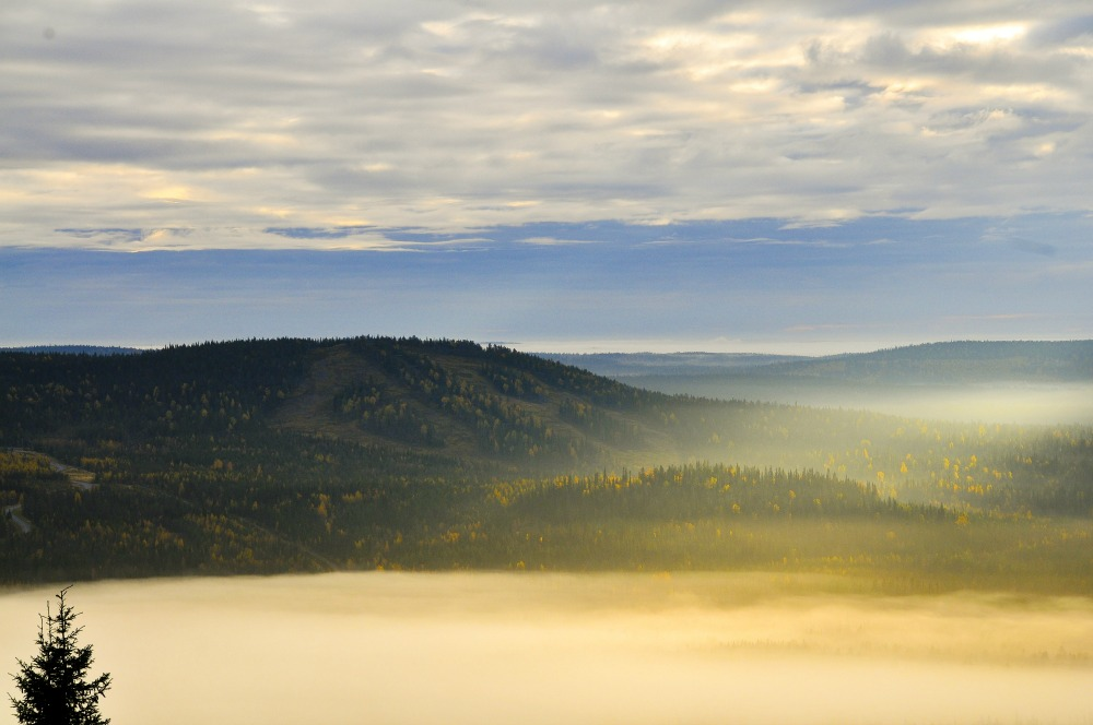 Fjäll-Landschaft in Syöte