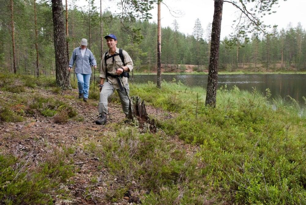 Nordic Walking Wandertour in Nationalpark Syöte