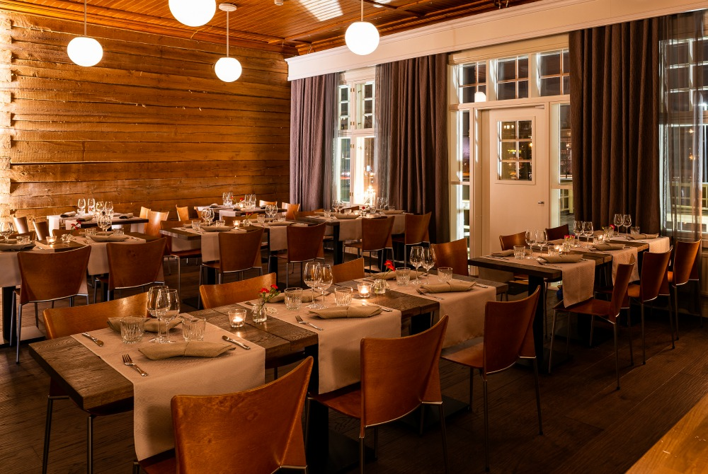 De Gamlas Restaurant Hotel dinner Oulu