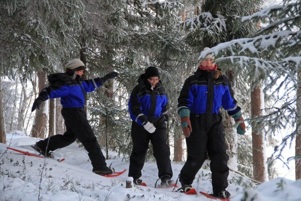 Finnland - Oulu - Eventours Oy - Schneeschuhwanderung