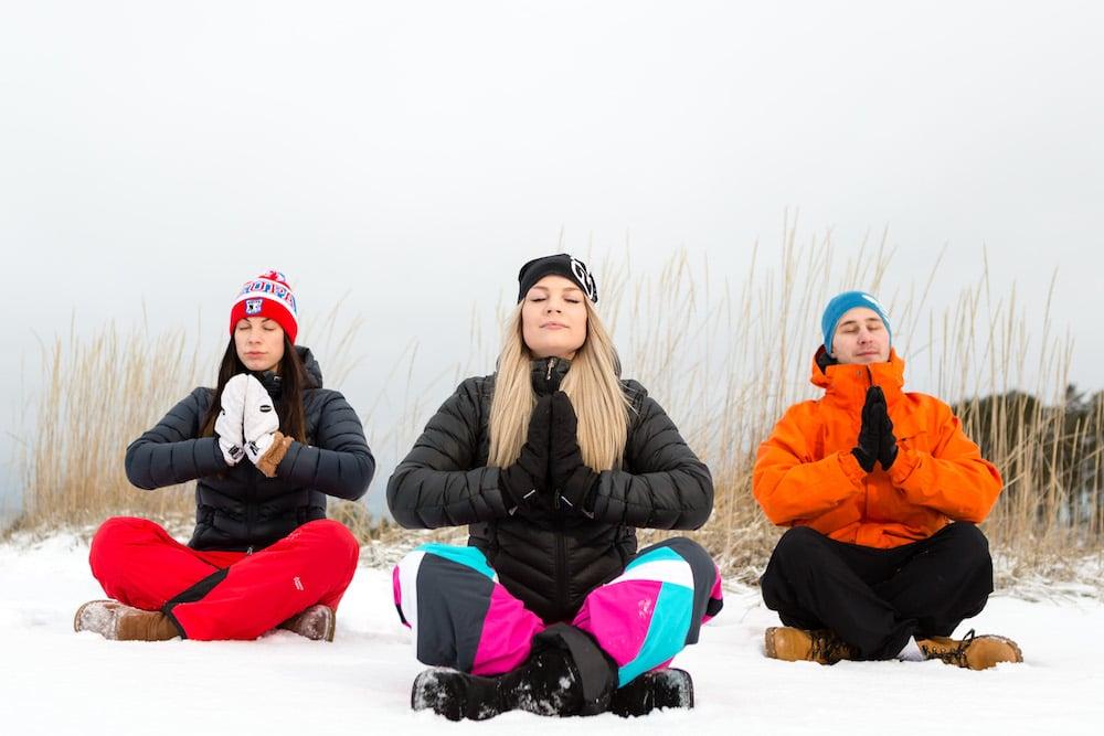 Kalajoki - Santas Resort . Snow Yoga soft