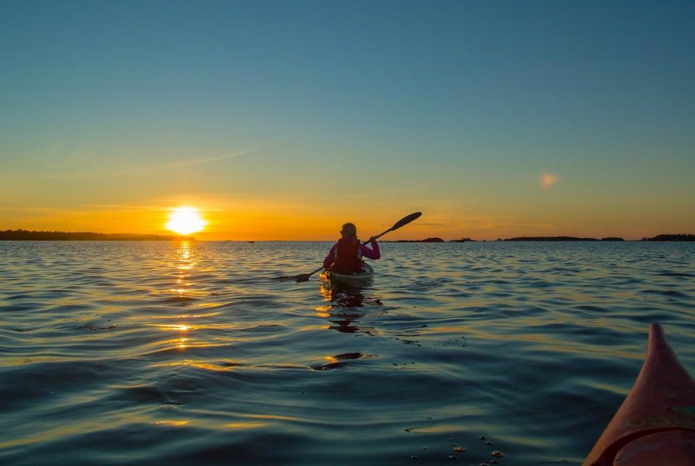 Kajaktour im Archipel in Kalajoki