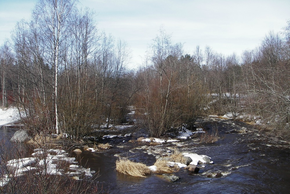 Kalajoki - Flusstal Siiponjoki